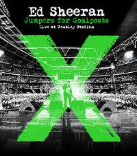 Cover Ed Sheeran - Jumpers For Goalposts - Live At Wembley Stadium [DVD]